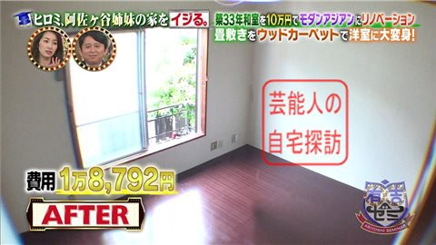 ヒロミ、阿佐ヶ谷姉妹の家をイジる030
