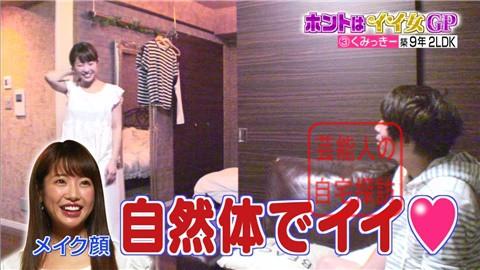 舟山久美子(くみっきー)の自宅110