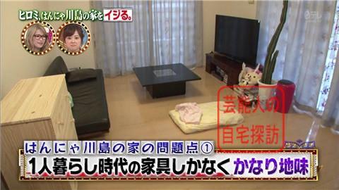 はんにゃ川島の自宅をヒロミがリフォーム012