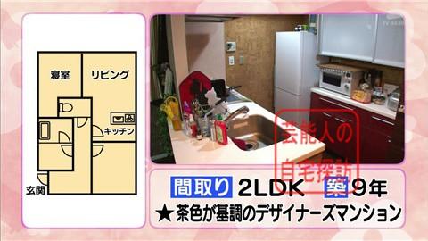 舟山久美子(くみっきー)の自宅021