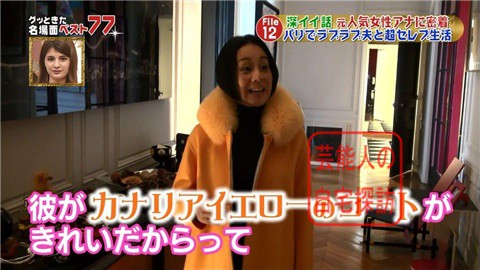 フジテレビアナ・中村江里子の優雅なパリ生活042