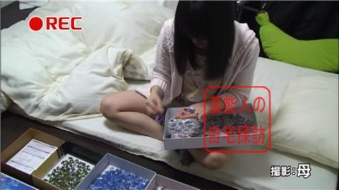 NMB48・山本彩がすっぴん姿で寝室大公開011