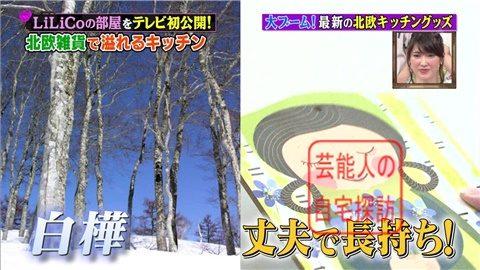 【北欧雑貨を活用】LiLiCoの自宅をテレビ初公開【画像あり】031