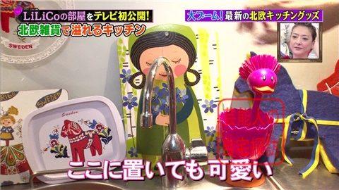 【北欧雑貨を活用】LiLiCoの自宅をテレビ初公開【画像あり】030