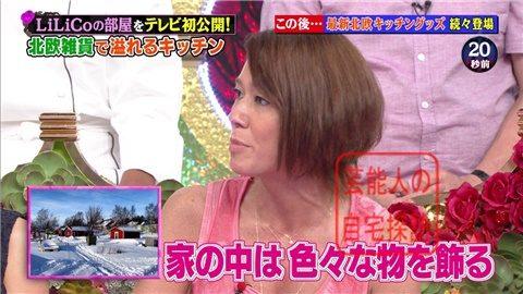 【北欧雑貨を活用】LiLiCoの自宅をテレビ初公開【画像あり】017