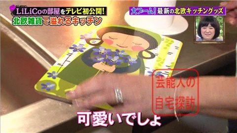 【北欧雑貨を活用】LiLiCoの自宅をテレビ初公開【画像あり】029