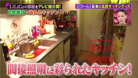 【北欧雑貨を活用】LiLiCoの自宅をテレビ初公開【画像あり】022