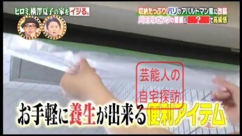 ヒロミ、横澤夏子の家をイジる。【画像あり】077