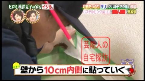 ヒロミ、横澤夏子の家をイジる。【画像あり】078